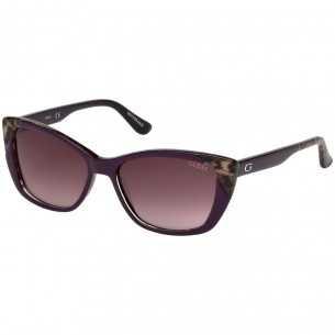 Ochelari de soare, de dama - Guess - GU7511 81Z - Violet Guess Ochelari de soare Dama
